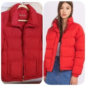 GUESS PUFFER DOWN INSULATED JACKET